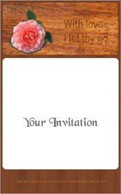 rose-on-wood-funeral-invitation