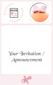 pregnant-big-belly-with-baby-girl-pink-shoes-invitation