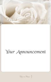 white-rose-death-announcement